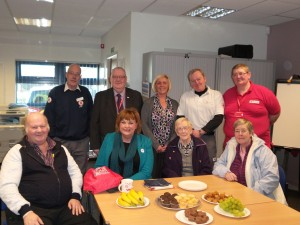 FIona Visits Red Cross, Bathgate
