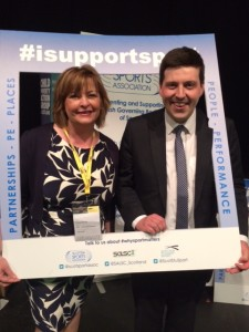 Fiona Hyslop MSP and Jamie Hepburn MSP i support