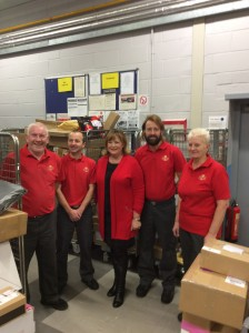 Fiona at Linlithgow and Bathgate Delivery Offices