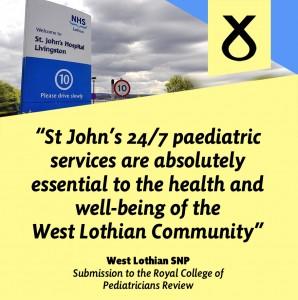West Lothian SNP St John's infographic