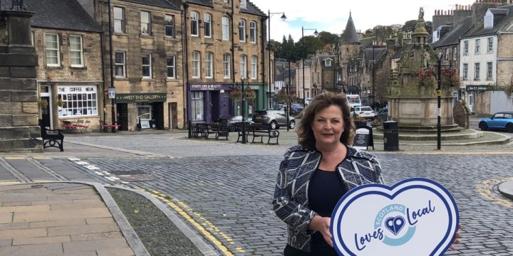 Hyslop Highlights 'Linlithgow Loves Local' Campaign