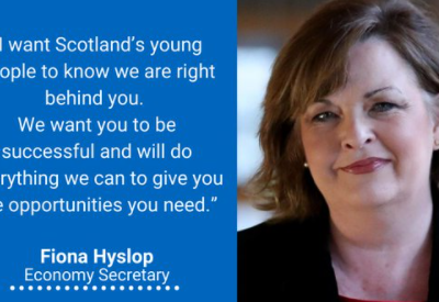 Hyslop Launches Scottish Government's Young Person's Guarantee